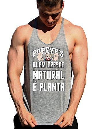 Regata Cavada Popeyes Quem Cresce Natural é Planta