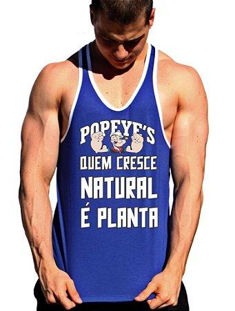 Regata Cavada Popeyes Quem Cresce Natural é Planta com viés