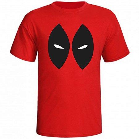 Camiseta Deadpool Mascara com Olhos