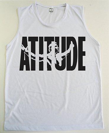 Regata Machão Arnold Atitude cor Branca