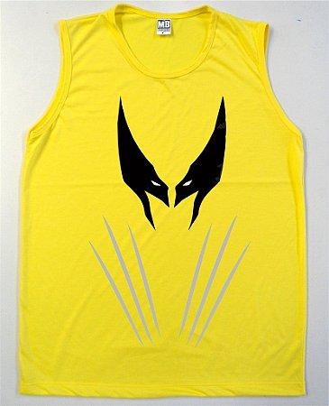 Regata Machão Wolverine Mascara cor Amarela