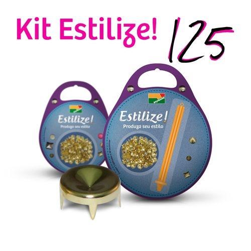 KIT Estilize 125 - Funil (125 Tachas + Aplicador)