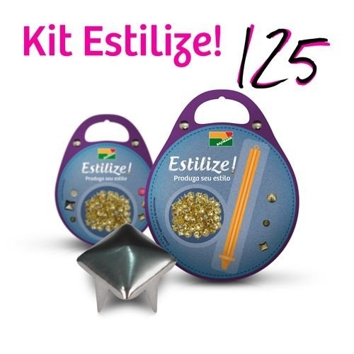 KIT Estilize 125 - Pirâmide (125 Tachas + Aplicador)