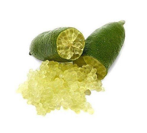 Limão Caviar (Lima-dedo) - Muda Enxertada