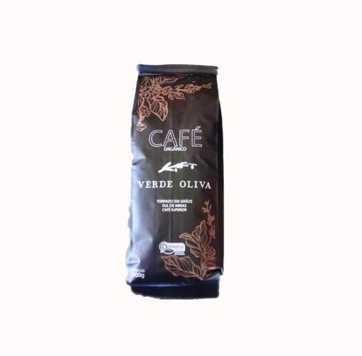 Café em grão - Orgânico - Verde Oliva - 500g