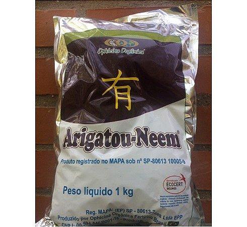 Torta Vegetal De Nim - Arigatou Neem - 1kg