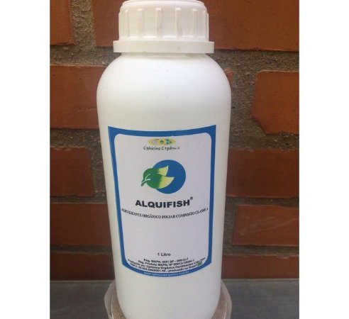 Alquifish - Fertilizante Orgânico Foliar - 1 Litro