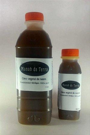 Óleo De Neem Nim 100% Puro - 1 litro