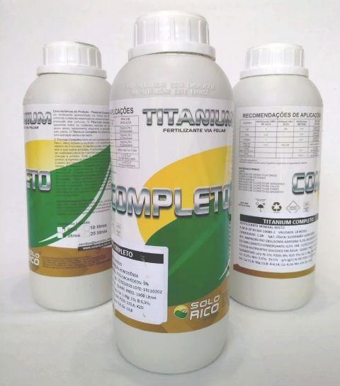 Titanium Completo 1l - Fertilizante Completo - Via Foliar