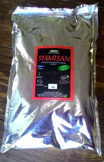 Fertilizante Orgânico Sumisan - 1kg