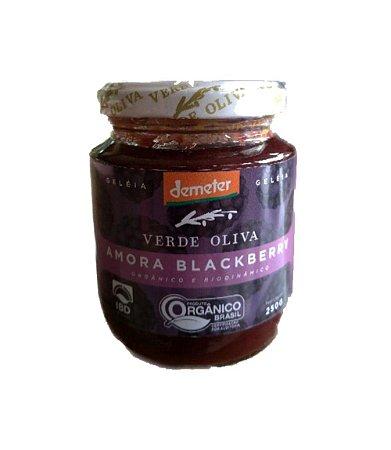 Geleia Orgânica (amora/blackberry) - Verde Oliva - 250g