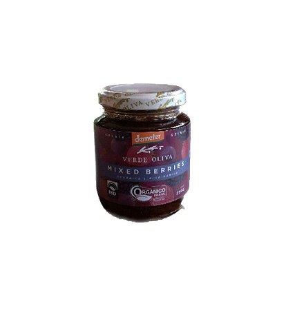 Geleia Orgânica (mixed berries) - Verde Oliva - 250g