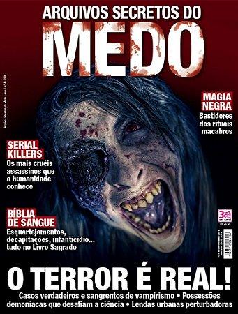 ARQUIVOS SECRETOS DO MEDO - 4 (2016)