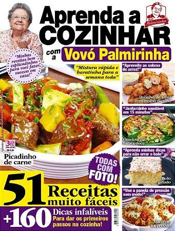 APRENDA A COZINHAR COM A VOVÓ PALMIRINHA - 6 (2016)