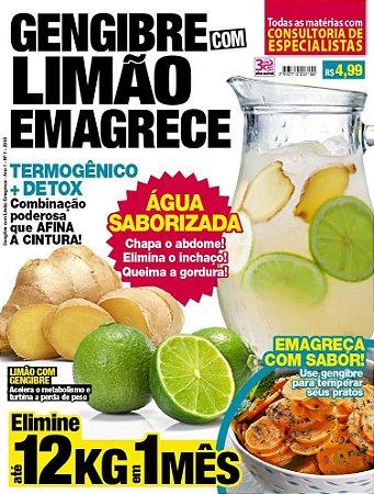 GENGIBRE COM LIMÃO EMAGRECE - 1 (2016)