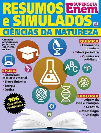 SUPERGUIA ENEM - RESUMOS E SIMULADOS  - CIÊNCIAS DA NATUREZA - 1 RELEITURA