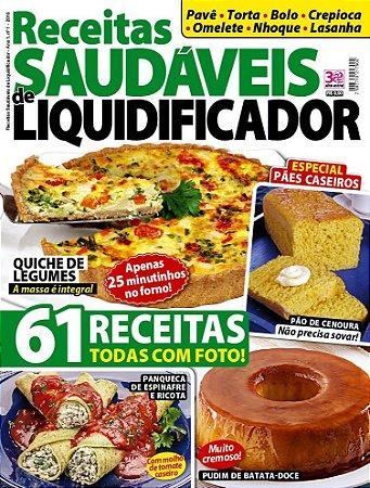 RECEITAS SAUDÁVEIS DE LIQUIDIFICADOR - 1 (2016)