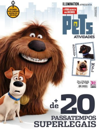 PETS - A VIDA SECRETA DOS BICHOS ATIVIDADES - 1 (2016)