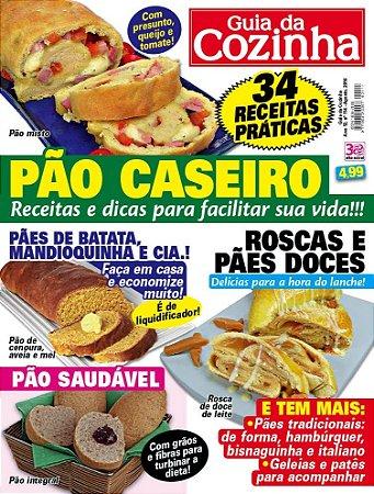 GUIA DA COZINHA - 114 PÃO CASEIRO (2016)