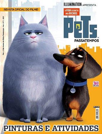PETS - A VIDA SECRETA DOS BICHOS PASSATEMPOS - 1 (2016)