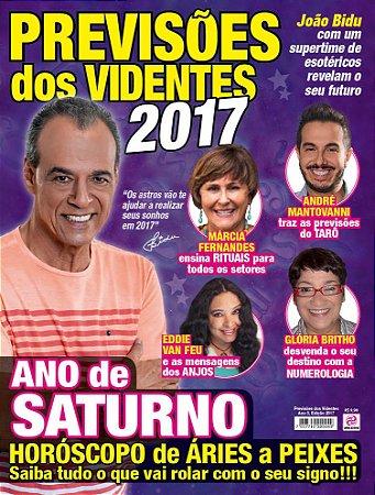 PREVISÕES DOS VIDENTES - 2017