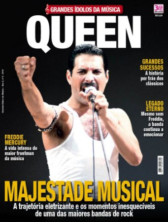 GRANDES ÍDOLOS DA MÚSICA - 5 QUEEN (2016)