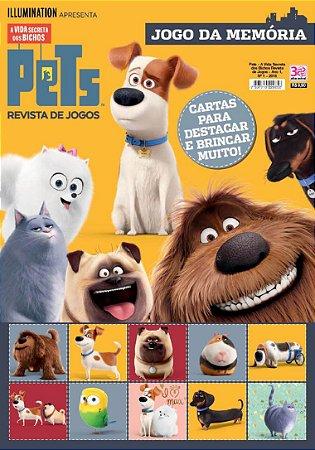 PETS - A VIDA SECRETA DOS BICHOS REVISTA DE JOGOS - 1 (2016)