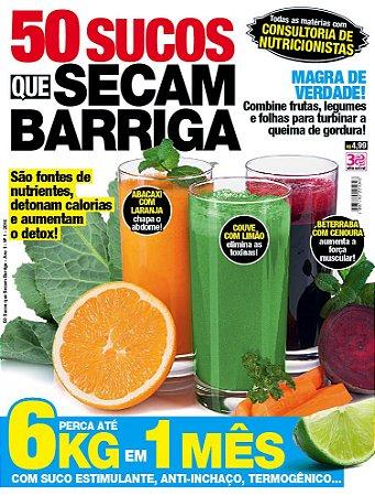 50 SUCOS QUE SECAM BARRIGA - 1 (2016)