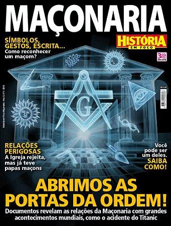HISTÓRIA EM FOCO MAÇONARIA - 3 (2016)