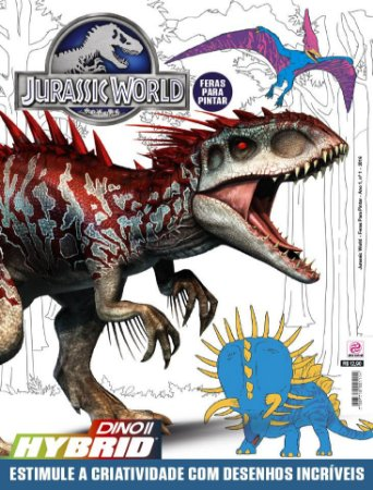 JURASSIC WORLD - FERAS PARA PINTAR - 1 (2016)