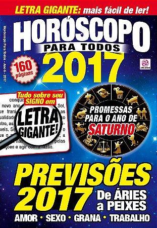 HORÓSCOPO PARA TODOS 2017