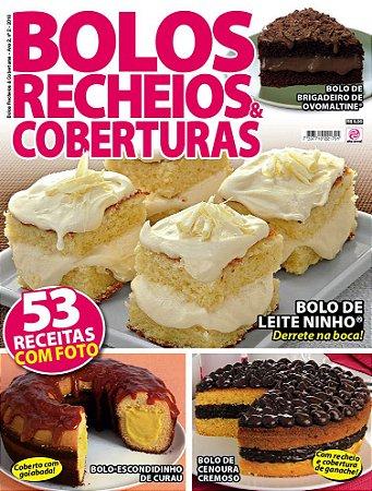 BOLOS RECHEIOS & COBERTURAS - EDIÇÃO 2 (2016)