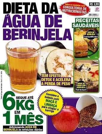 DIETA DA ÁGUA DE BERINJELA - EDIÇÃO 2 (2016)