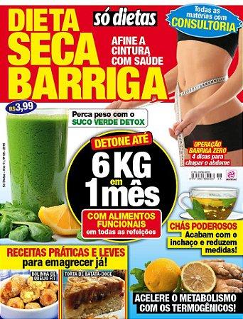 SÓ DIETAS - EDIÇÃO 58 - DIETA SECA BARRIGA (2016)