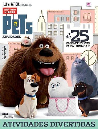 PETS - A VIDA SECRETA DOS BICHOS ATIVIDADES - EDIÇÃO 2 (2016)