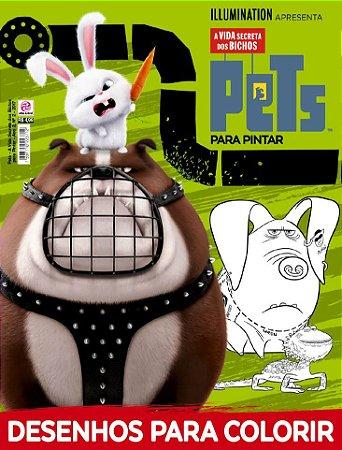 PETS - A VIDA SECRETA DOS BICHOS PARA PINTAR - EDIÇÃO 2 (2017)