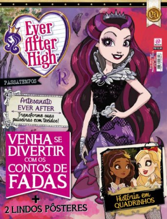 EVER AFTER HIGH PASSATEMPOS - EDIÇÃO 2 (2017)