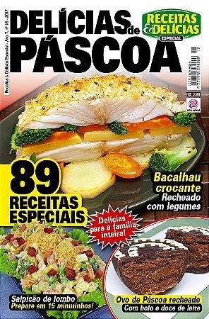 RECEITAS & DELÍCIAS ESPECIAL - EDIÇÃO 15 - DELÍCIAS DE PÁSCOA (2017)