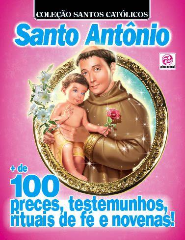 COLEÇÃO SANTOS CATÓLICOS - EDIÇÃO 7 - SANTO ANTÔNIO (2017)