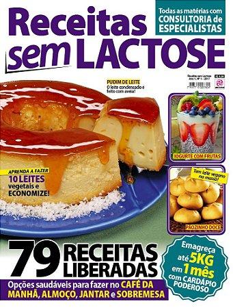 RECEITAS SEM LACTOSE - EDIÇÃO 1 (2017)