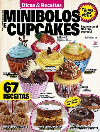 DICAS & RECEITAS - EDIÇÃO 6 - MINIBOLOS E CUPCAKES (2017)