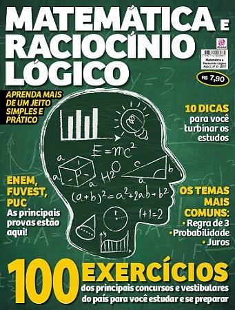 MATEMÁTICA E RACIOCÍNIO LÓGICO - EDIÇÃO 4 (2017)