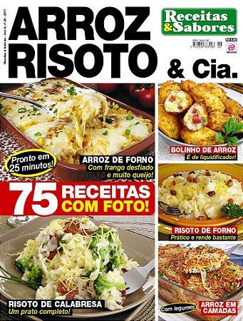 RECEITAS & SABORES - EDIÇÃO 26 - ARROZ, RISOTO & CIA (2017)