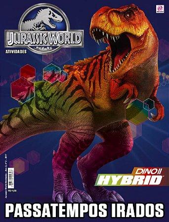 JURASSIC WORLD ATIVIDADES - EDIÇÃO 2 (2017)