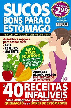 SUCOS BONS PARA O ESTÔMAGO - EDIÇÃO 1 (2017)