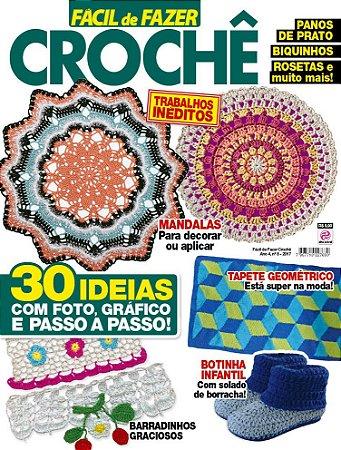 FÁCIL DE FAZER CROCHÊ - EDIÇÃO 8 (2017)