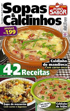 PURO SABOR - EDIÇÃO 119 - SOPAS & CALDINHOS (2017)