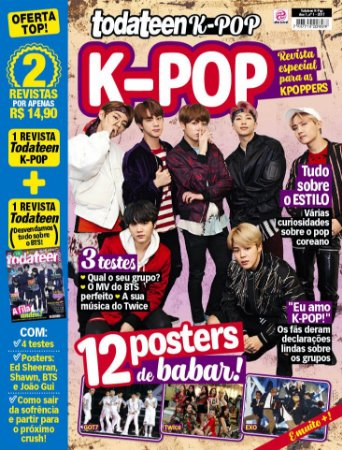 TODATEEN K-POP - EDIÇÃO 1 (2017)