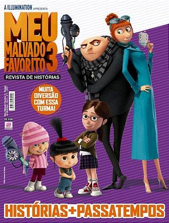 MEU MALVADO FAVORITO 3 - REVISTA DE HISTÓRIAS - EDIÇÃO 1 (2017)