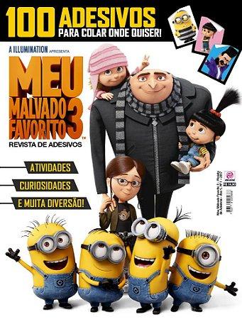 MEU MALVADO FAVORITO 3 - REVISTA DE ADESIVOS - EDIÇÃO 1(2017)